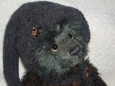 "Charlie bear Cozy Toes 18.5"" mohair Ltd Edition Isabelle Collection SJ5390"