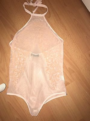 Blush Mesh Bodysuit
