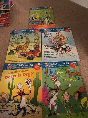 Series Of 5 The Cat In The hat Books