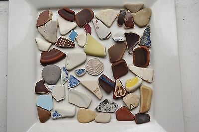 English Pottery from Cornwall  ...... 47 pieces, weighing 219g