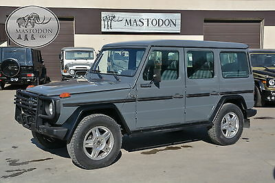 1987 Mercedes-Benz G-Class G-wagon G-class 4x4 4 door LONG WHEEL BASE 1987 Gray G-wagon G-class 4x4 4 door LONG WHEEL BASE 230GE