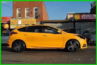2015 Ford Focus ST 400A  Moonroof 2.0 Turbo Repairable Rebuildable Salvage Wrecked Runs Drives EZ Project Needs Fix Save Big