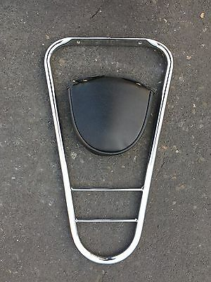 Vespa ET2/4 Sissy Bar (With Pad)