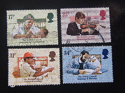 1984 - 50th Ann of the British Council - used set