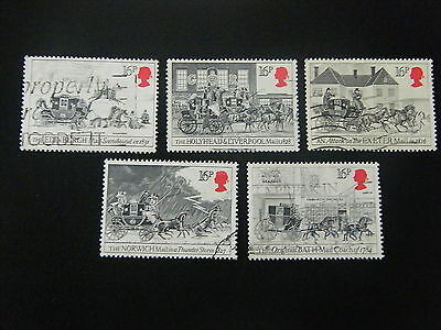 1984 - First Postage Coach - used set