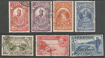 ETHIOPIA ,  nice used stamps