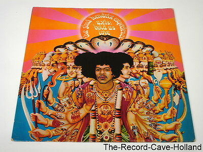 LP JIMI HENDRIX EXPERIENCE Axis Bold As Love UK Pressing 1967 Stereo Track A1 B1