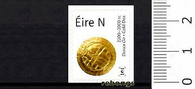 Gold Disc, A History of Ireland in 100 Objects - 2017 BKLT Stamp - Éire, Ireland