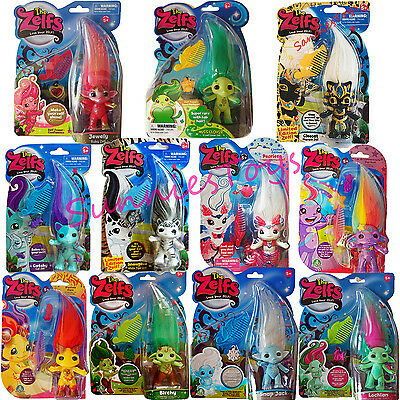 ZELFS Miss Clover Cleocat Jewely Ruby Snowphie Pearleen Catsby Birchy RARE NEW
