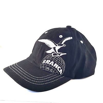 Fernet Branca Hat Baseball Cap Adjustable Black White Embroidered Cotton New