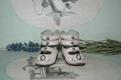 """Beautiful leather shoes for Jumeau Bru Steiner  doll 2 - 5/8"""" (68 mm)"""