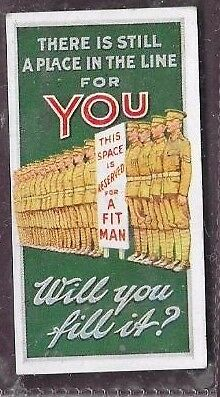 Wills Recruiting Posters Place In The Line