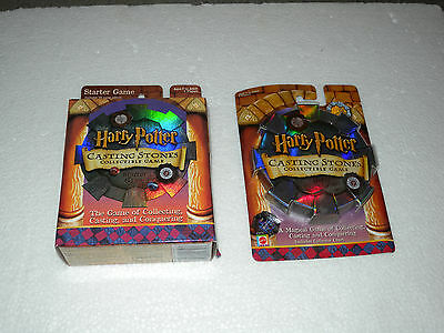 New Mattel Harry Potter CASTING STONES STARTER GAME with 1 refill