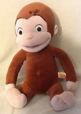 """Curious George 13"""" Plush Tickle Giggle & Laughing Monkey 2005"""