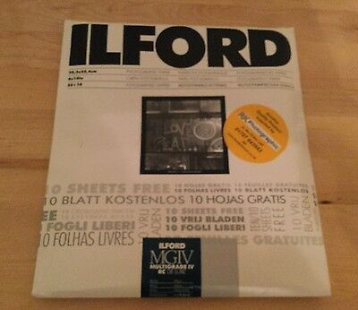 Ilford Photographic Paper MGIV Multigrade IV RC Deluxe