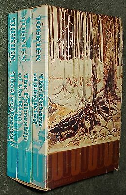 Lord of The Rings Trilogy - 3 Pbks in Card Sleeve - Unwin Books - 1974 - Scarce