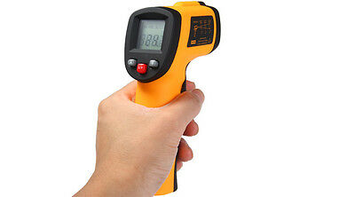 Benetech GM300 Infrared Thermometer Temperature Meter Gun with LCD Display Data