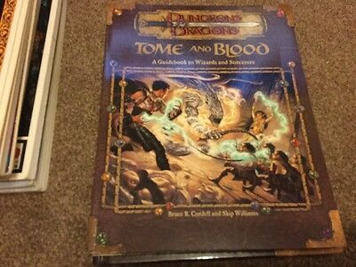 Dungeons & Dragons Forgotten Realms 3rd edition Tome and Blood guidebook