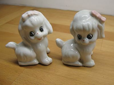 Character Dog  & Cat Figurines ( 4 Dogs / 2 Cats)