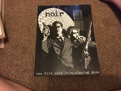 Noir The Film Role Playing Game Book