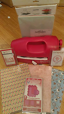 Spellbinders Grand Calibur Cutting Machine with LOTS of Accessories