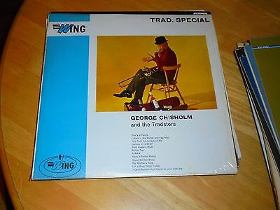 LP/ GEORGE CHISHOLM &THE TRADSTERS /TRAD SPECIAL (1960s UK PHILIPS WING MONO
