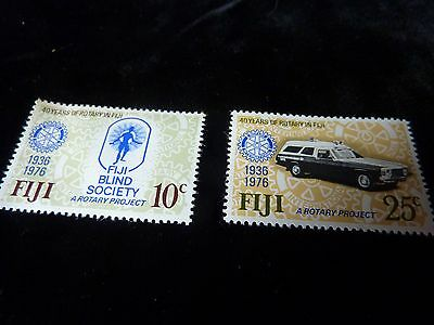 Postage Stamps for Fiji Blind Society