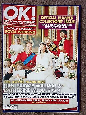 Ok Magazine Collectors Edition The Marriage Of Prince William And Kate Middleton