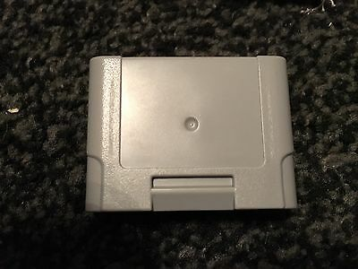 Official Controller Memory Pak / Pack / Card For The Nintendo 64 N64 Tested Work