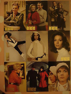The Women Of The Avengers: Gold Foil Chase Card Set - All 9 Cards