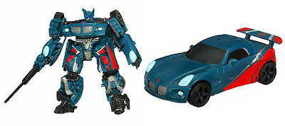 Transformers Smokescreen Prime Deluxe Class Movie Loose Like New Javitron