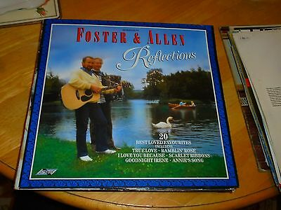 Lp/ Foster And Allen / Reflections (1987 Uk Stylus
