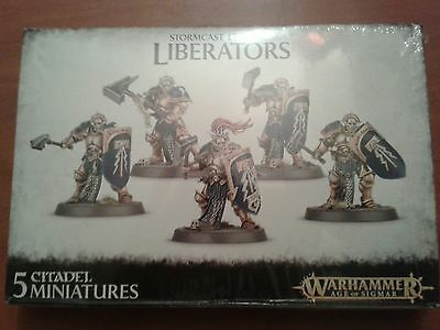 warhammer, age of sigmar stormcast eternals liberators new and sealed
