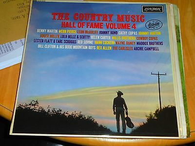 Lp/ Starday Country Hall Of Fame Vol4 (Orig 1963 Mono Uk London Plum Label