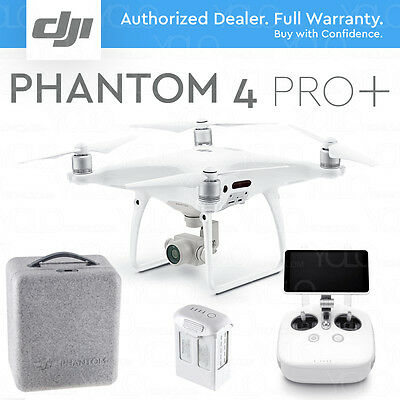 "**DJI PHANTOM 4 PRO+ PLUS DRONE w/ Gimbal Camera 1"" CMOS 4K 20MP. + 5.5"" DISPLAY"