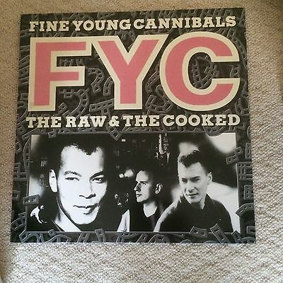 Fine Young Cannibals The Raw And The Cooked Lp