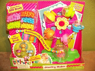 Lalaloopsy Tinies 2 in 1 Jewelry Maker and Playset NEW