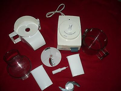 Cuisinart 3 Cup Food Processor FP-3 With attachments