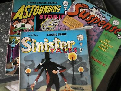 Comics x 3 ,Outstanding No 131 Sinister tales No 87 Suspence No 165