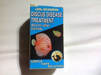 Esha Hexamita Discus Cichlid Fish Treatment Hole in the Head 20ml