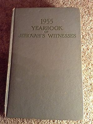 IBSA Yearbook 1955 Jehovahs Witnesses Watchtower