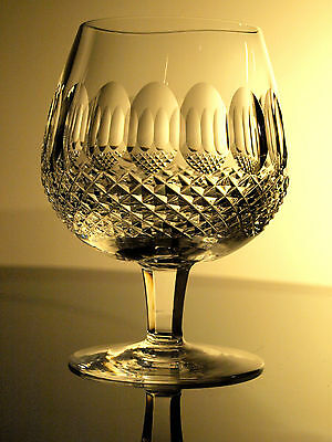 Waterford Crystal Colleen 12 Oz Brandy Balloon Glass/ Glasses Made In Ireland