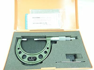 Mitutoyo  Micrometer  Outside   Blade..# 122 - 126 ...1 - 2 ..