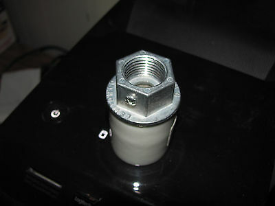 Porcelain Gas Pump Light Socket With 1/2 Inch Pipe Thread