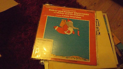 jean de brunhoff babar and father christmas lp