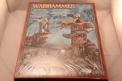 Warhammer Eternity Stair and Dreadfire Portal Scenery OOP