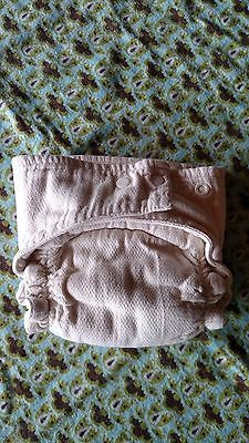 OsoCozy - Fitted All in One - Snap-  Cotton Cloth Diaper - Size LARGE