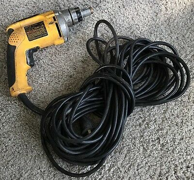 DeWalt DW272 6.3 AMP VSR Drywall Screwgun Used!!