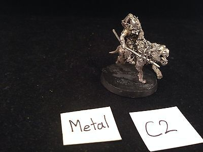 Warhammer Lord Of The Rings Metal Warg Rider