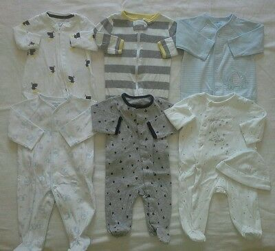 Baby boys 0/3 3 months sleepers footed pajamas clothes lot!